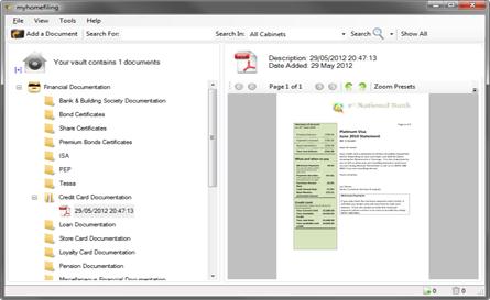 Click to view myhomefiling 4.1.7 screenshot